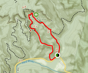 Indian Staircase Full Loop Map