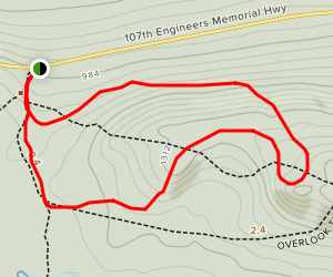 Government Overlook Loop Trail Map