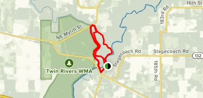 Big Oak Loop Trail Map