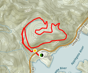 Grouse Loop Trail 941 Map