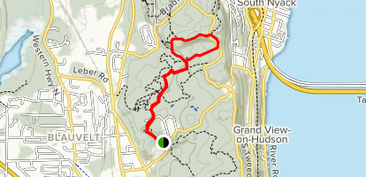 Oh Five, Red and White Loop via Long Path Map