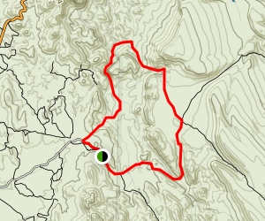 Garden Valley Loop Trail Map