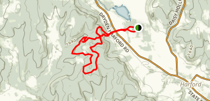 Star Stanton Hill and Hammond Hill Map