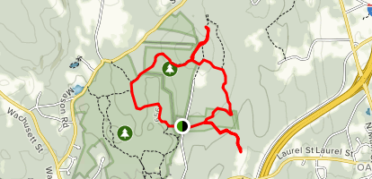 White Oak Loop Map