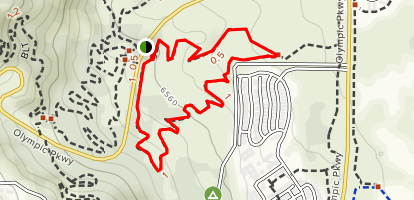 Olympic Parkway Loop Map