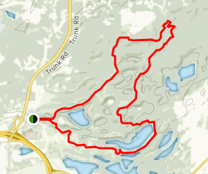 Matanuska Experiment Farm Loop Map
