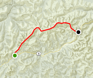 Pinnell Mountain Trail Map