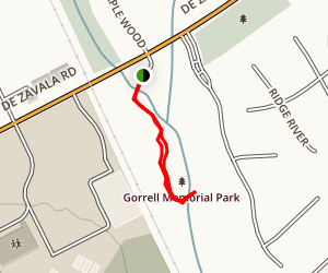 Gorrell Memorial Park Trail Map