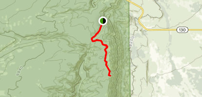 Miner's Cabin Trail Map