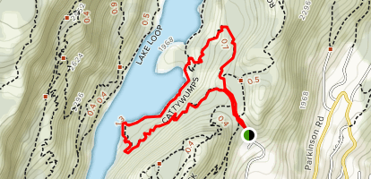 Cattywumps Trail Map