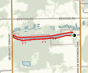 Casey Park Trail Loop Map