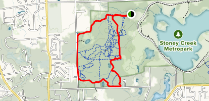 Stony Creek West Branch Loop Map