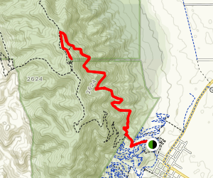 Mount Remarkable Summit Map