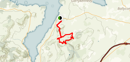 Arra Mountains Loop Map