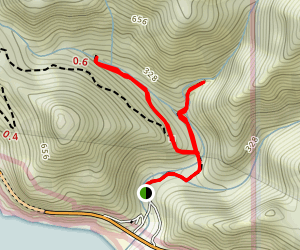 Limekiln Creek Falls Trail Map