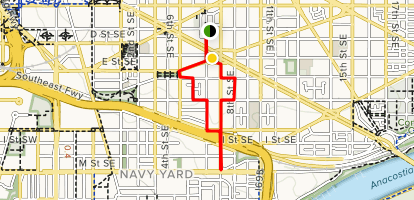 Se Dc Map.Barracks Row Heritage Trail District Of Columbia Alltrails