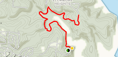 Norfork Trail: Briarcliff to Devils Backbone Map