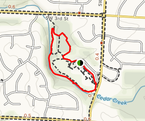 Winterset Park Nature Area Trail Map