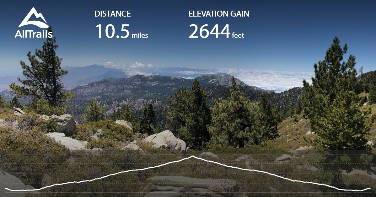 Echo Lake Ca >> San Jacinto Peak from The Tramway - California | AllTrails