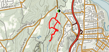 East Mountain Wildlife Management Area Loop Map