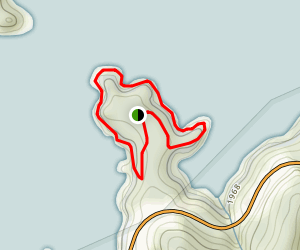 Cardens Bluff Trail Map