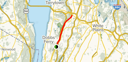 South County Trailway: Dobbs Ferry to Elmsford Map