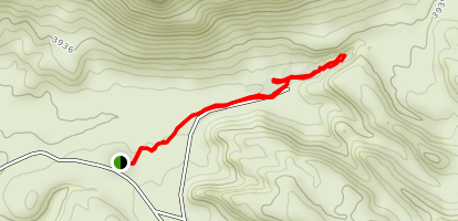 Ojito Adentro Trail Map