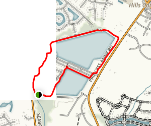 Sherwood Lakes Path Map