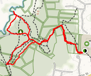 Town Forest Loop Map