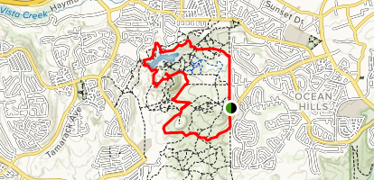 Cerro de la Calavera Loop Map