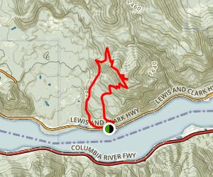 Dog Mountain Inner Loop Map