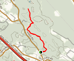 Traux Trail Map