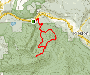 West Tiger #1 via Preston and Tiger Mountain Trail Loop Map