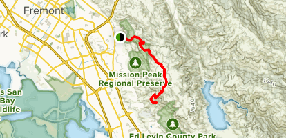 Mission Peak and the Memory Tree Map