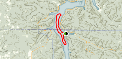 Allegheny Reservoir Map