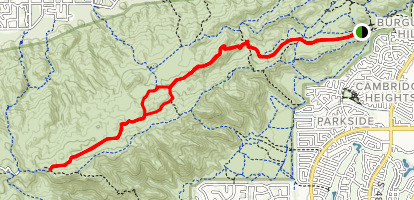 South Mountain National Trail Map