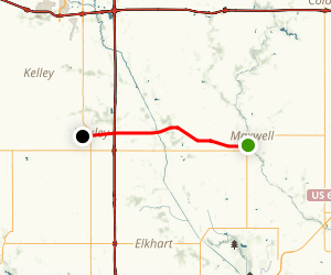 Heart of Iowa Nature Trail: Maxwell to Huxley Map