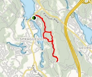 Mary Mowry Trail to Ken Weber Trail Loop Map