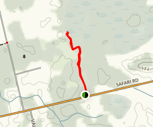 Beverly Swamp Trail Map