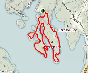 Bay Point Loop Trail Map