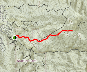 Kenny Creek Trail Map