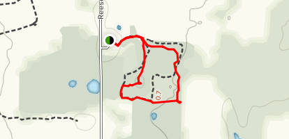High Point Conservation Loop Map