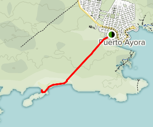 Tortuga Bay Footway Map