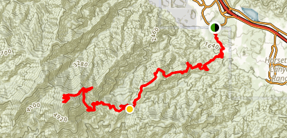 Indian Truck Trail Map