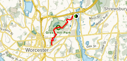East Side Trail Map