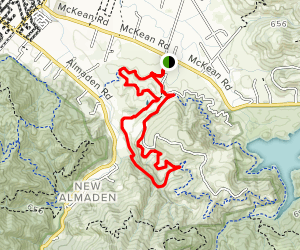 North Ridge Trail and Lisa Killough Trail Loop Map