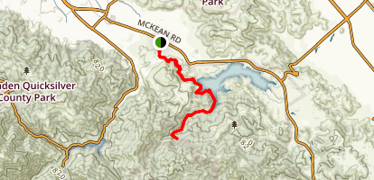 Cottle Trail to Cottle House Map