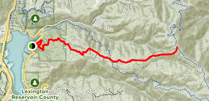 Priest Rock Trail Map