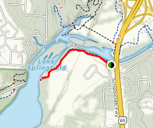James River Greenway Trail of Honor Map