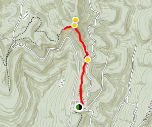Ozark Highlands Trail: Morgan Fields to Hare Mountain Map